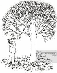 Falling Leaf cartoon 2 of 6