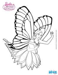 Mariposa Flying Through Flutterfield Barbie Printable Color Online Print