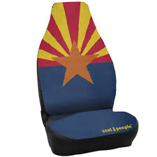 Arizona Flag | Universal Fit Waterproof Neoprene Car Seat Covers