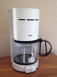 Braun 10 Cup Coffee Maker Vintage Made In Germany With Gold Filter