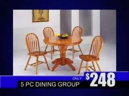 american freight furniture affordable dinning room sets youtube