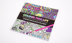 Groupon Goods Global GmbH Colour Therapy Anti Stress Colouring Book From GBP398
