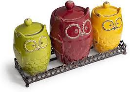Ceramic Kitchen Canister Sets Kitchen Canister Set Metal Tray Ceramic