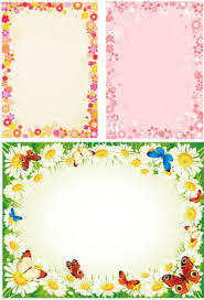 Flower Border Designs Free Vector Download 15125 Free Vector For