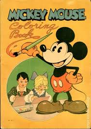 Mickey Mouse Coloring Book 1931 871