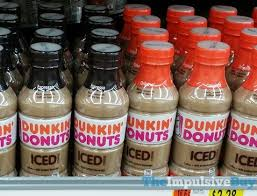 Dunkin Donuts Bottled Iced Coffee Espresso And Original