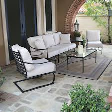 Black Metal Outdoor Furniture Traditional Seattle by Thos Baker