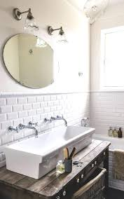 Trough Bathroom Sink With Two Faucets Canada by Trough Bathroom Sink With Two Faucets Canada U2013 Luannoe Me
