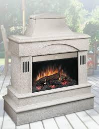 Rocklin Outdoor Electric Fireplace EMP OSTN 26