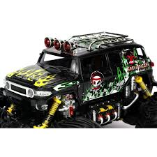 Velocity Toys Graffiti Toyota FJ Cruiser Remote Control RC Truck Big ... Rc Toys Monster Jam Truck Sonuva Digger Remote Control Unboxing Semi Trucks Tamiya Cabs Trailers Traxxas 110 Scale Trx4 Trail Crawler Land Rover Rtg Rc Car Electric 4wd Off Road Rock Dodge Ram Offroad Woffroad Tires 4wd High Speed The Gear Fox Best Buy Remotecontrolled Ford F250 2127 Toys At Pulling Controlled All Vehicles Excavator Tractor Cstruction Simple Fpv Video Addon For Hail To The King Baby Reviews Buyers Guide