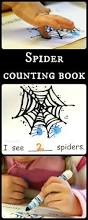 Great Halloween Books For Preschoolers by Halloween Math With A Spider Counting Book Halloween Math