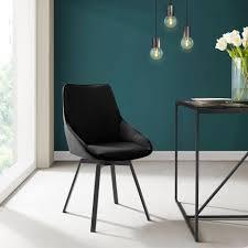 inosign esszimmerstuhl merisa 2er set mit gepolstertem sitz und rückenlehne modernes design drehbar kaufen otto
