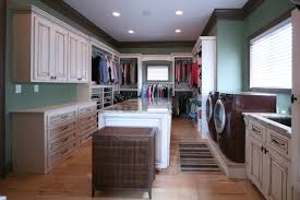 master closet connected to utility houzz