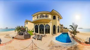 100 Villa In Luxurious 4 Bedrooms In Palm Jumeirah With Swimming Pool Beach Access
