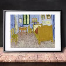 gogh schlafzimmer in arles 1889 leinwand kunstdruck malerei poster wand bilder für wohnzimmer haus dekorative schlafzimmer decor keine rahmen