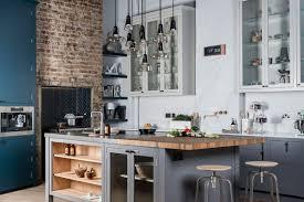 cuisine industrielle photo cuisine avec carrelage metro rutistica home solutions