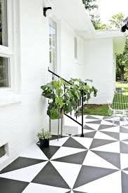 Patio Flooring Ideas Uk by Cheap Patio Floor Ideas Decorating Checkerboard Pattern Of