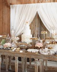 Rustic Dessert Table From Blake Lively And Ryan Reynolds Wedding