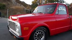 100 Tucker Truck Parts 1972 Chevy C10 Pickup Truck Short Box New Paint Interior FOR SALE