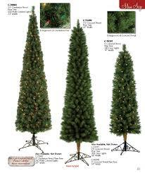 Slim Pre Lit Christmas Trees 7ft by Skinny Christmas Trees Slim Logo 10 Foot Crystal White Slim