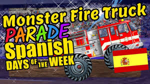 Monster Fire Trucks Teaching The Days Of The Week In Spanish ... Bump And Go Teaching Firetruck English Spanish Best Choice E091e Fdny Engine 91 Harlem New York City Flickr Filespanish Fork Fd 9 Jul 15jpg Wikimedia Commons Refighter Fired After Filling Swimming Pool With Water Planestrains Automobiles Placemat In Or French Etsy 61 Ladder Truck 43 Other Toys For Toddlers And Babies With Sounds Gas Explosions Kill 25 Taiwan Timecom Rescue Chicago Fire Video Tribune Horsedrawn American Steam Takes Class Win At Hemmings