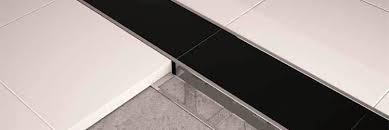 ceramic tile edge trim installation interior home design
