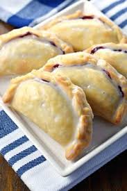 All It Takes Is 30 Minutes To Prepare These Blueberry Lemon Hand Pies With Their Flaky