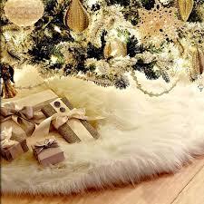 78cm Christmas Tree Plush Skirt Holiday Tree Ornaments