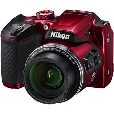 Nikon COOLPIX B500 Digital Camera Red B&H Video