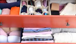 schubladen organizer fürs schlafzimmer kleiderschrank