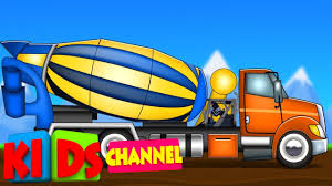 Concrete Mixer Truck | Kids Car Wash Song | Trucks Videos - YouTube Ambulance Video For Children Kids Truck Fire And Rescue Tow Youtube Alphabet Garbage Learning Vacuum Trucks Color Cars In Spiderman Cartoon Videos Colors Pictures Of For Group 67 Monster Road Roller Excavator
