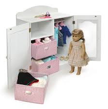 Badger Basket Mirrored Doll Armoire With 3 Baskets And 3 Hangers ... Sheilas Fniture And Crafts Made Pieces For Reese 18 Doll Armoire Victorian Wardrobe Storage Trunk American Girl American Doll Clothes Closet Roselawnlutheran Ana White For Diy Projects Impressive Unfinished Dollhouse 116 Wood Closetarmoire Amazoncom Inch Wish Crown Closet Our Generation Pink Lil