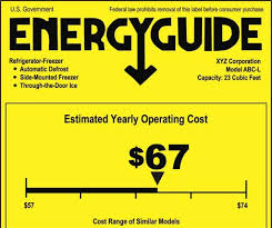 Energy Star Guide Label Image
