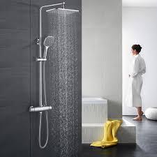 bonade duschset ohne wasserhahn regendusche duscharmatur