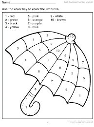 Sandbox Color By Number Coloring Pages Numbers Characters With 1