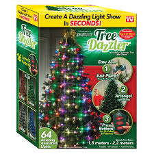 Blinking Christmas Tree Lights by Tree Dazzler Coolstuff Com
