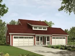 Caryville Apartment Garage Plan 007D 0194
