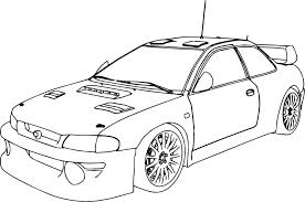 Coloring Pages Race Car Rally Cartoon Printable Carnations Science Experiment Frozen