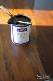 Applying Polyurethane To Hardwood Floors Without Sanding by How To Refinish A Table Without Sanding U0026 Stripping