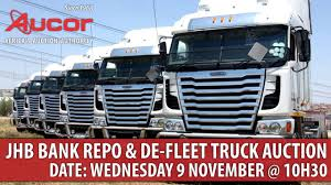 100 Bank Repo Trucks Aucor Truck Auction 9 November YouTube
