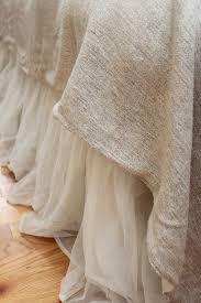 Whisper Ivory Bed Skirt
