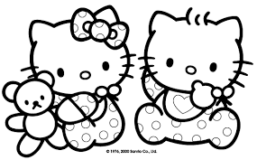 Full Size Of Coloring Pagecoloring Book Kitty Cute Hello Page