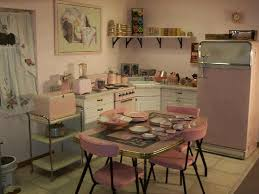 Cute Retro Pink Kitchen Perfect For Baking Cupcakes In High Heels Ruffled Apron