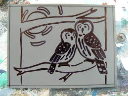 Picture Of Put Your Design On Linoleum Sheet