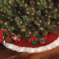 Brylanehome Pre Lit Christmas Tree Skirt