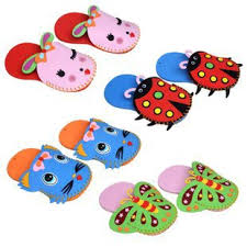 10pairs LotDo Your Own SlippersMixed DesignFoam CraftsCraft MaterialsActivity Itemskids ToysKids SlippersDIY17245CM On Aliexpress