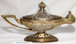 Antique Brass Genie Lamp by Oil Lamp Genie Image Information