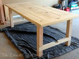 Furniture Round Rustic Kitchen Table