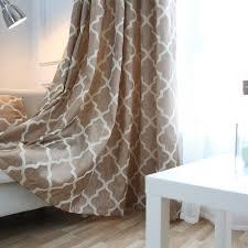 moderne fenêtre rideaux décoration de la maison de mode tissus