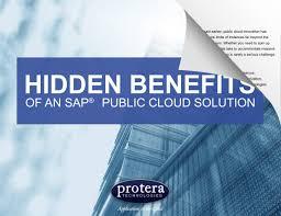 100 The Hiding Place Ebook Free Hidden Benefits Of An SAP Public Cloud Solution EBook